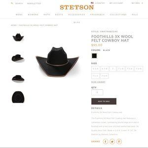 dea754478755da Stetson Accessories   Xxx Stallion By Cowboy Hat   Poshmark